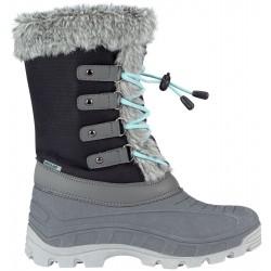 Apres ski boots black/anthracite/mint