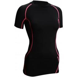 Ισοθερμικό Μπλουζάκι Γυναικείο Μαύρο