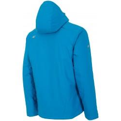 Men's jacket 4F light blue