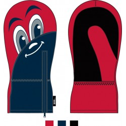 Baby Ski Gloves ASTROLABIO Red