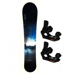 Snowboard with bindings country house