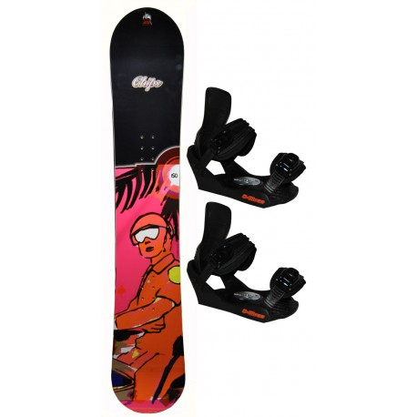 HEAD Snowboard with bindings CHIPS
