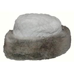 BREKKA fur hood white