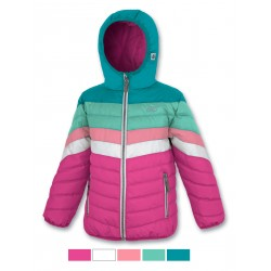 Baby Quilted Jacket ASTROLABIO Green