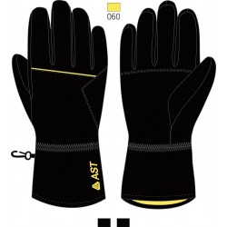 Men's Ski Gloves ASTROLABIO Black