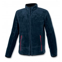 Junior Sweater with Full Zip ASTROLABIO Blue