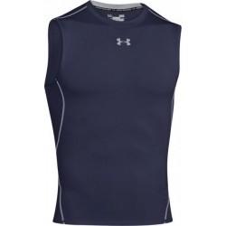 Αμάνικη ισοθερμική μπλούζα UA black