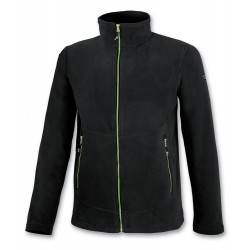Men's fleece black ASTROLABIO