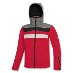 Kid's jacket Ski ASTROLABIO red