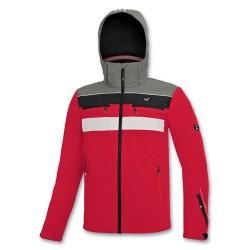 Kid's jacket Ski ASTROLABIO red