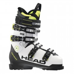 Ski Boots HEAD ADVANT EDGE 95 WHITE/BLACK-YELLOW