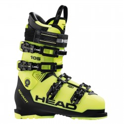 Ski Boots HEAD ADVANT EDGE 105 yellow-black