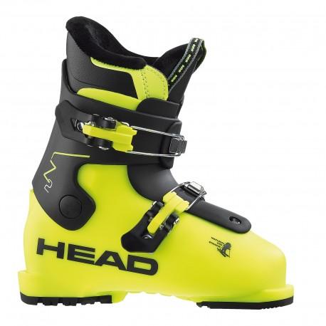 Junior Ski Boots Z 2 yellow-black