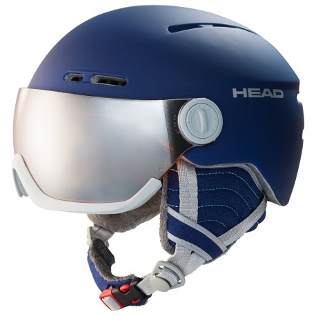 HEAD Ski Helmet Queen nightblue (2020)