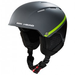 HEAD Ski Helmet Tucker Boa anthracite/lime (2020)