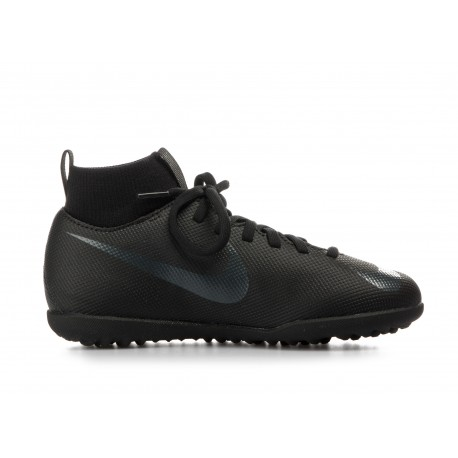 NIKE JR SUPERFLYX 6 CLUB TF  Μαύρο