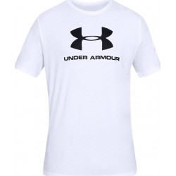 Under Armour Sportstyle Logo white