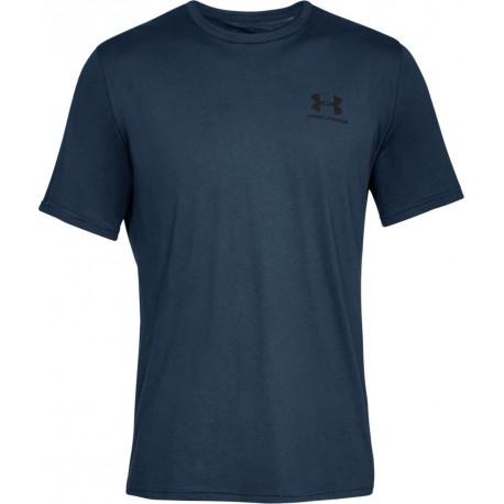 Under Armour Sportstyle Left Chest Logo blue