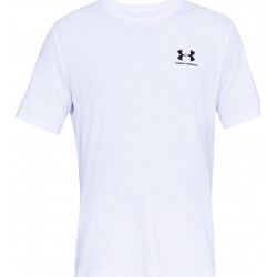 Under Armour Sportstyle Left Chest Logo white
