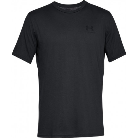 Under Armour Sportstyle Left Chest Logo black