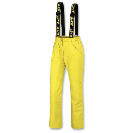 Women Trousers ASTROLABIO Yellow