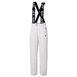 Women Trousers ASTROLABIO white