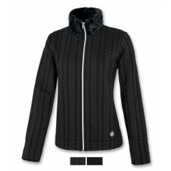 Women's fleece ASTROLABIO black