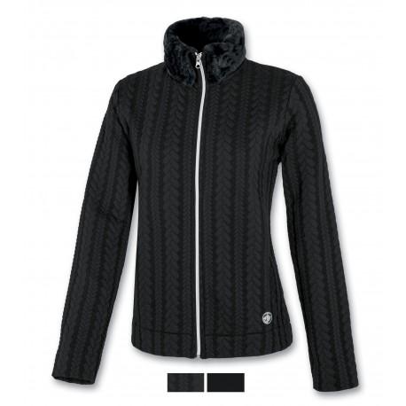 Women's fleece ASTROLABIO black