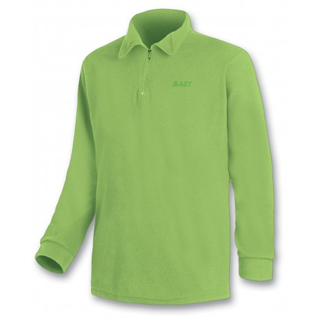 Microfleece zippy ASTROLABIO men light green