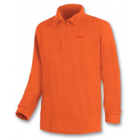 Microfleece zippy ASTROLABIO men orange