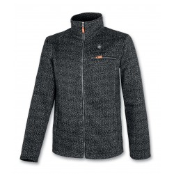 Men's Fleece Sweater ASTROLABIO blk