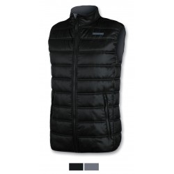 Men's Sleevesless Jacket ASTROLABIO black