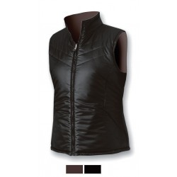 Women's vest ASTROLABIO brown