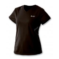 Women's t-shirt dry fit black ASTROLABIO