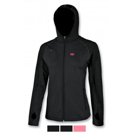 Women's sweater dry fit black ASTROLABIO