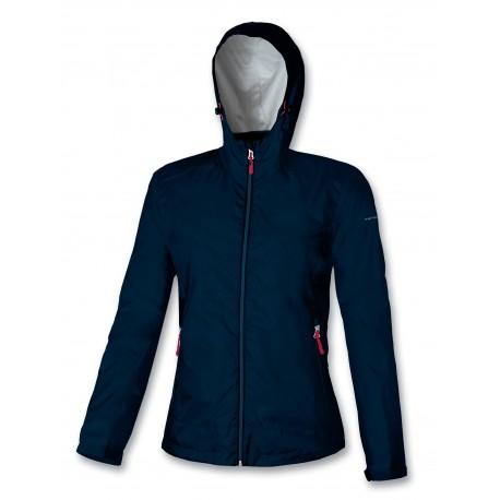 Waterproof women jacket ASTROLABIO blue