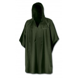 Waterproof poncho man green ASTROLABIO