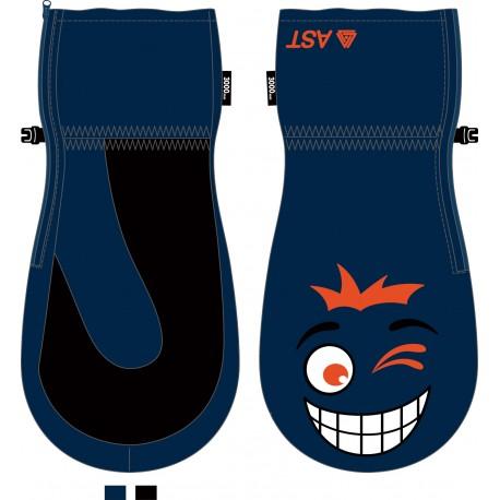 Junior Ski Gloves blue ASTROLABIO
