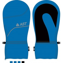 Junior Ski Gloves light blue ASTROLABIO