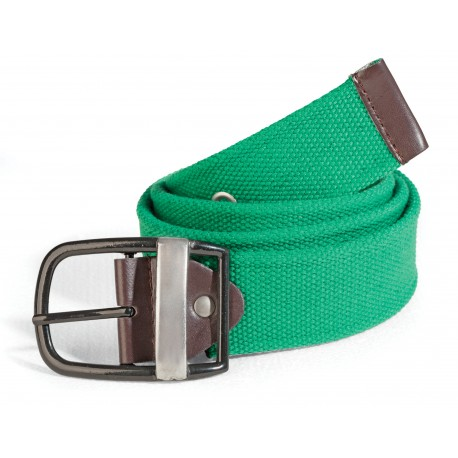 Men's belt green ASTROLABIO