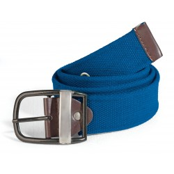 Men's belt blue ASTROLABIO