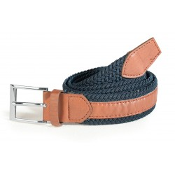 Men's belt blue/brown ASTROLABIO
