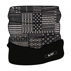 Neck warmer with fleece blk ASTROLABIO