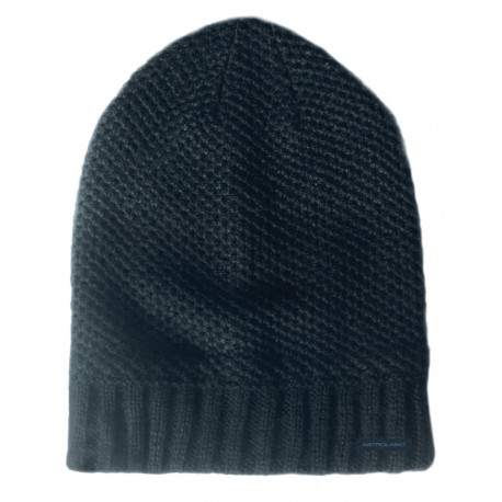 Men's knitted cap grey ASTROLABIO