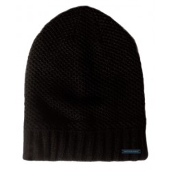 Men's knitted cap black ASTROLABIO
