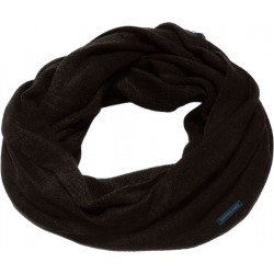 Men's knitted neckwarmer black ASTROLABIO