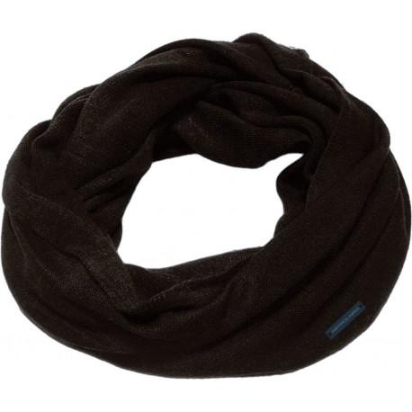 Men's knitted neckwarmer black ASTROLABIO