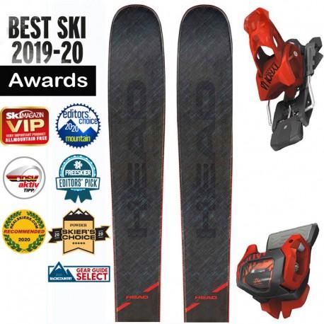 Ski HEAD Kore 99 grey + ATTACK 13 GW (2020)
