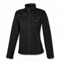 Women fleece ASTROLABIO blk