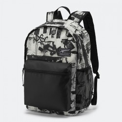 PUMA Academy Backpack blk/wh